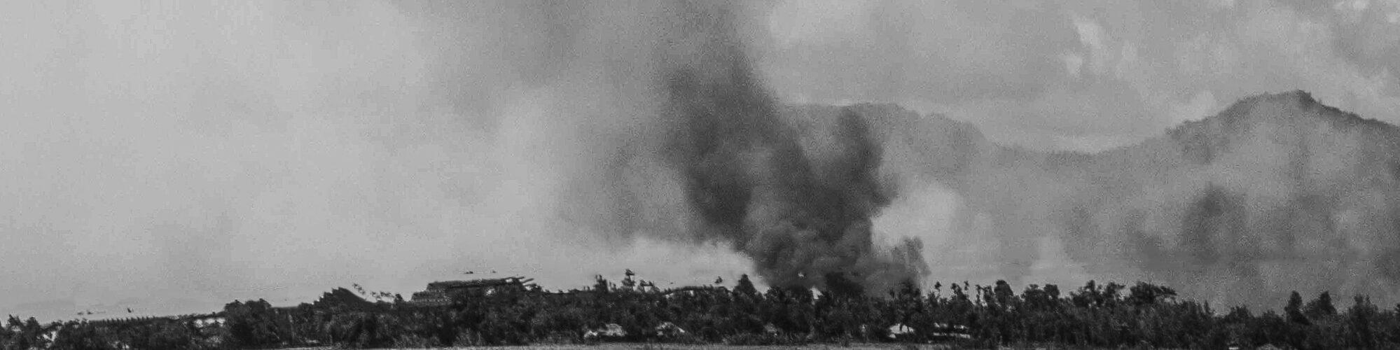 Smoke in Rakhine